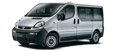 Minibus, up to 8 people and max 8 pieces of baggage / car