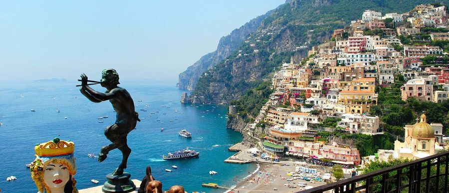 Positano to/from Rome