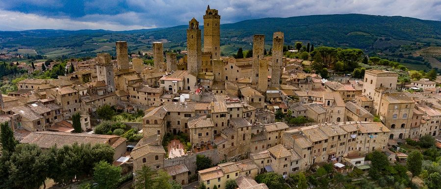 San Gimignano to/from Rome
