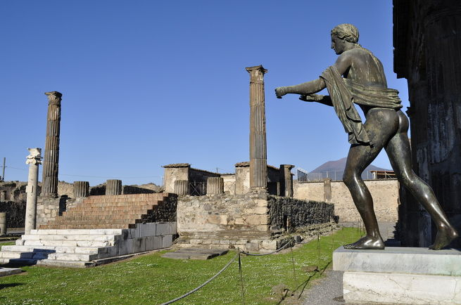 private tour from rome to pompeii